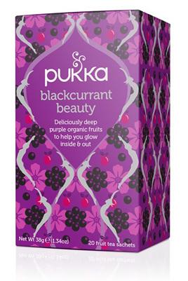 Pukka Tea - Blackcurrant Beauty - 20 Tea Bags