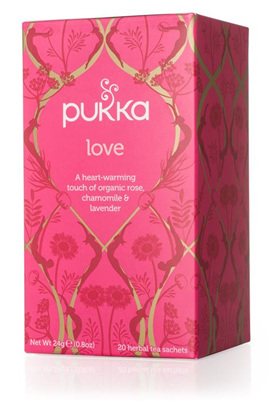 Pukka Tea - Love 20 Herbal Tea Sachets