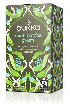 Pukka Tea - Mint Matcha Green 20 Tea Bags