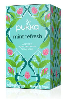 Pukka Tea - Mint Refresh - 20 Tea Bags
