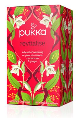 Pukka Tea - Revitalise 20 Herbal Tea Sachets