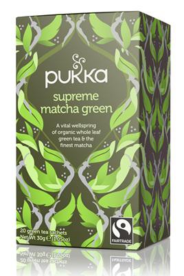 Pukka Tea - Supreme Matcha Tea 20 bags