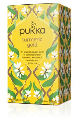 Pukka Tea - Turmeric Gold 20 Tea Bags