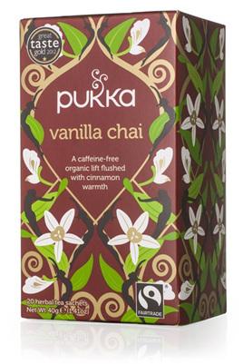 Pukka Tea - Vanilla Chai Tea 20 bags