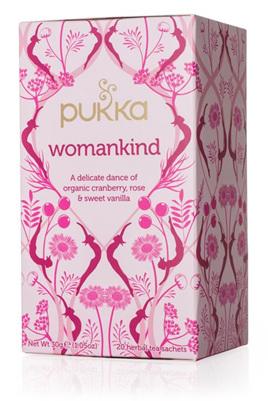 Pukka Tea - Womankind 20 Herbal Tea Sachets