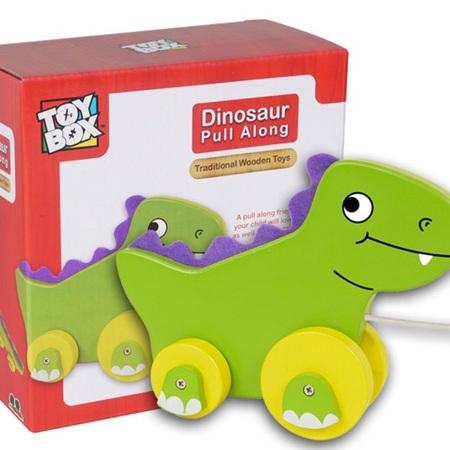 Pull Along Dinosaur