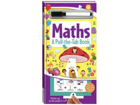 Pull-the-Tab Board Book - Maths