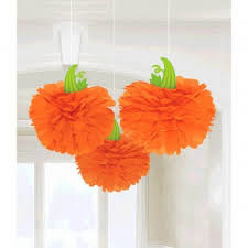 Pumpkin Fluffies - Pack of 3