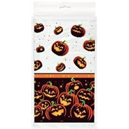 Pumpkin Grin Table Cover