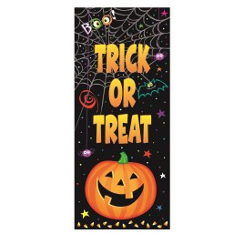 Pumpkin Pals Door Poster