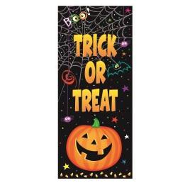Pumpkin Pals Door Poster