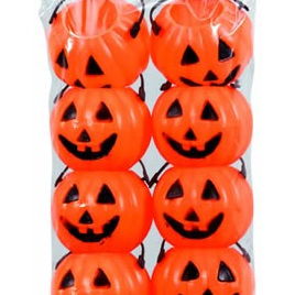 Pumpkin Treat Pails x 12