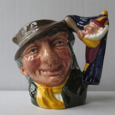 Punch and Judy Man character jug