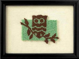 Punch Needle Kit - Owl