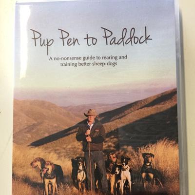 Pup Pen to Paddock DVD
