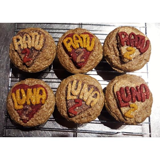 Pupcakes for Luna and Ratu