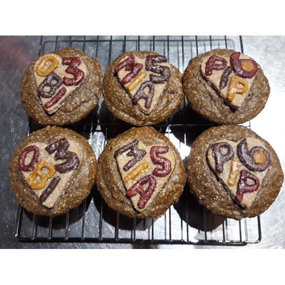 Pupcakes with dogs names