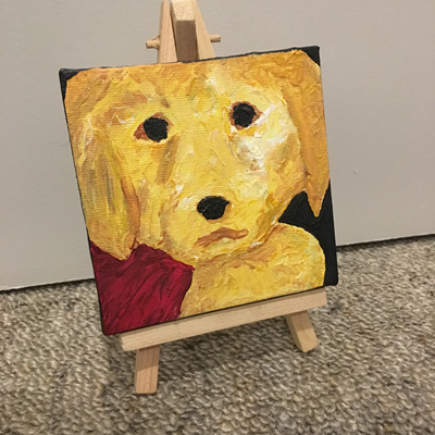 Puppy Painting - Max