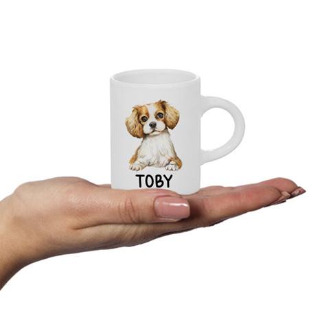 Puppy Personalised Fluffy Mug