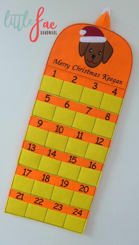 Puppy Xmas Calendar