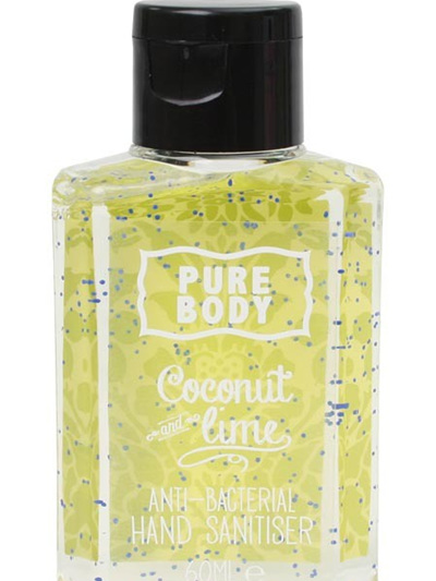 PURE BODY-HAND SANITISER-COCONUT & LIME