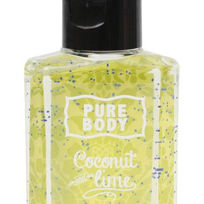 PURE BODY-HAND SANITISER-COCONUT & LIME
