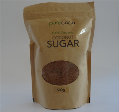Pure Coco Organic Coconut Sugar 500g