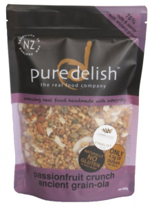 Pure Delish Passionfruit crunch ancient grain- 400gm