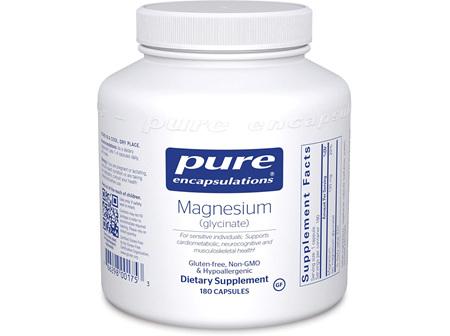 Pure Encapsulation Magnesium Glycinate 180 Capsules