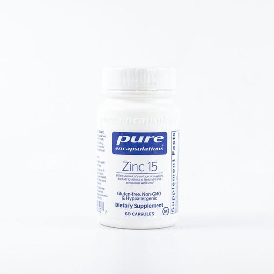 Pure Encapsulations Zinc 15 60 Capsules