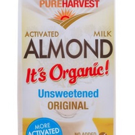Pure Harvest Organic Almond Milk Unsweetened 1ltr