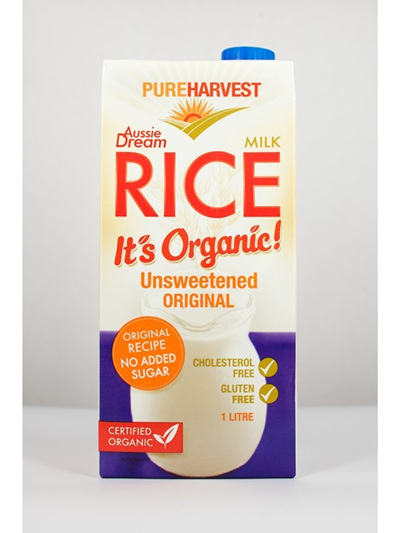 Pure Harvest Organic Rice Milk 1ltr