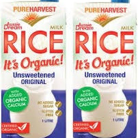 Pure Harvest Organic Rice Milk - calcium enriched