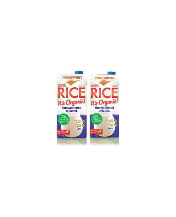 Pure Harvest Organic Rice Milk - calcium enriched