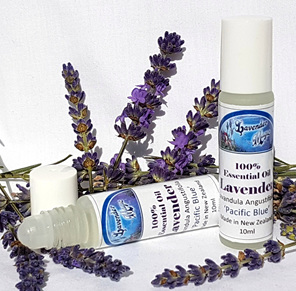 Pure lavender essential oil, grown & distilled in New Zealand by Lavender Magic