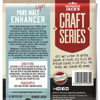 Pure Malt Enhancer 1.2kg