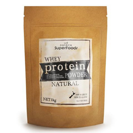 Pure NZ Whey Protein Powder (Natural Chocolate) - 1Kg