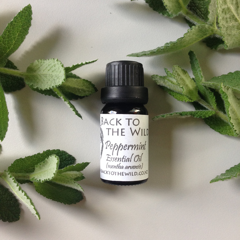 pure organic peppermint essential oil nz natural affordable zero waste gift