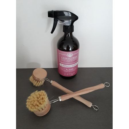 Pure Sparkle - Wooden dish brush
