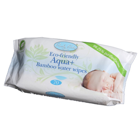 Purely Baby - Biodegradable Aqua Water Wipes 70 Pack