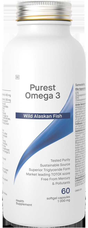 Purest Omega 3 1000mg x 60 capsules