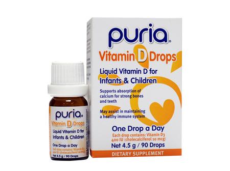 PURIA VITAMIN D DROPS 4.5g