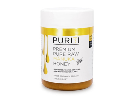Puriti Premium Pure Raw Manuka Honey UMF20+