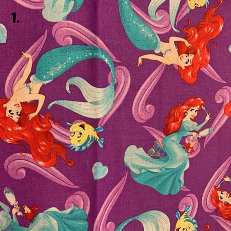 Purple Fabric Tones Lot 1