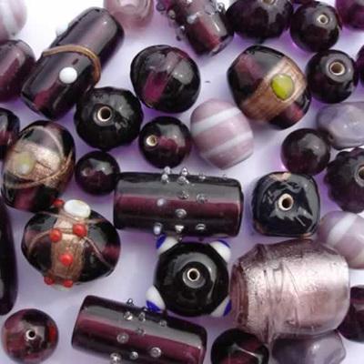 Purple Fancy Bead Mix