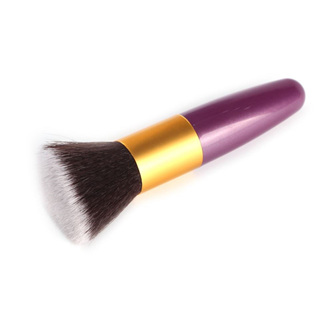 Purple & Gold Make up Blush Brush