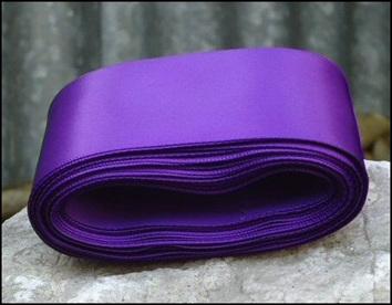 Purple Haze Wedding Car Ribbon