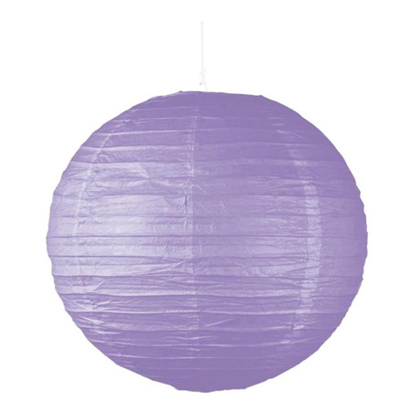 Purple Party Lantern 25cm