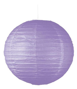 Purple Party Lantern 25cm