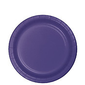 Purple Party Lunch Plates x 24